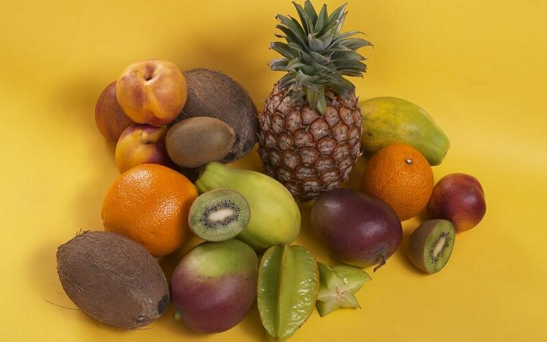 Eat fruit for chronic prostatitis